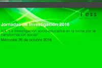 <p>Jornadas de Investigaci&oacute;n 2016</p>