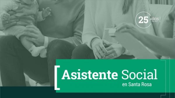 Asistente Social (Modalidades: A distancia y presencial)