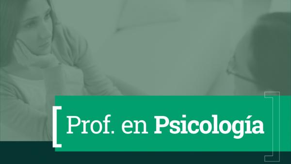 Profesorado en Psicología