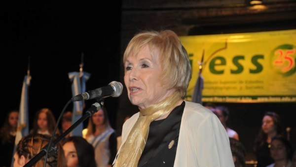 Vilma Pruzzo participará de congreso de neurociencia en Ecuador